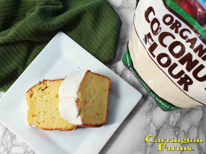 Healthy Holiday Recipe Series: Lemon Pound Cake via Kara's Party Ideas