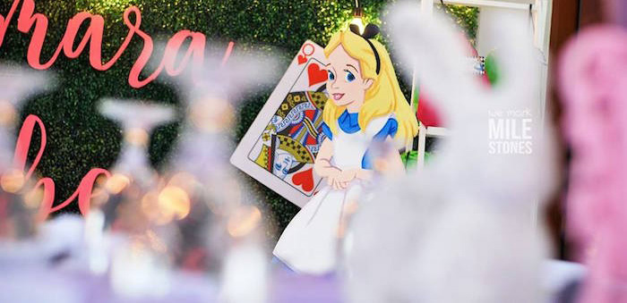 Alice in Wonderland Birthday Party on Kara's Party Ideas | KarasPartyIdeas.com (2)