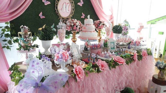 Kara S Party Ideas Beautiful Butterfly Birthday Party