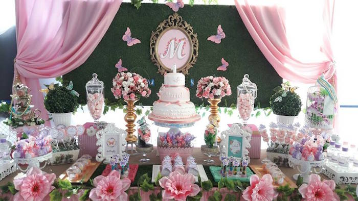 Beautiful Butterfly Birthday Party on Kara's Party Ideas | KarasPartyIdeas.com (12)