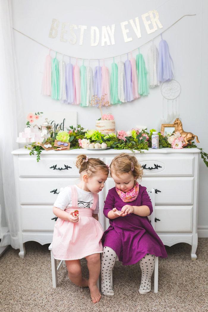 Best Day Ever Pretty Pastel Birthday Party on Kara's Party Ideas | KarasPartyIdeas.com (9)