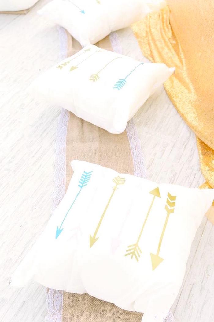 Decorative boho pillows from a Bohemian Beach Tea Party on Kara's Party Ideas | KarasPartyIdeas.com (22)
