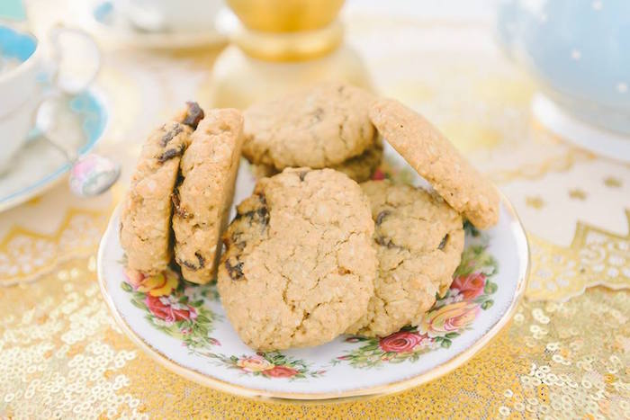 Cookies from a Bohemian Beach Tea Party on Kara's Party Ideas | KarasPartyIdeas.com (6)