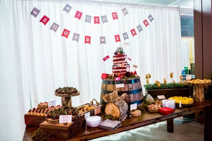 Camping Themed Bar Mitzvah Celebration on Kara's Party Ideas | KarasPartyIdeas.com (68)