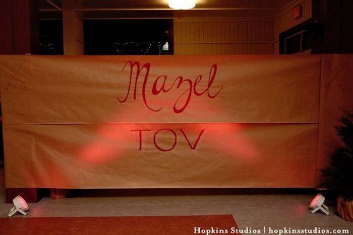 Kara\'s Party Ideas Camping Themed Bar Mitzvah Celebration | Kara\'s ...