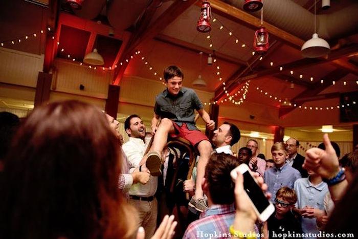 Camping Themed Bar Mitzvah Celebration on Kara's Party Ideas   KarasPartyIdeas.com (53)