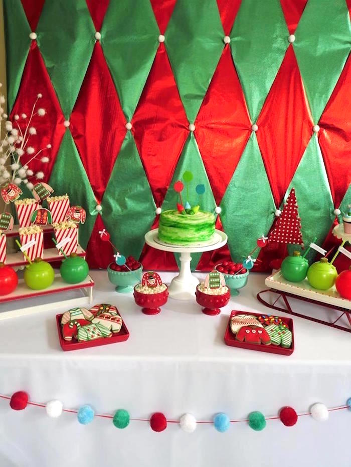 Kara's Party Ideas Christmas Ugly Sweater Party | Kara's ...