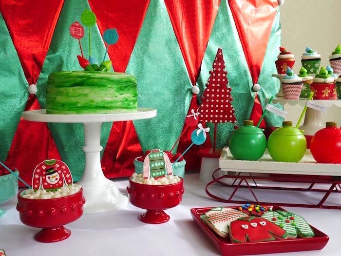 Ugly Sweater Christmas Party on Kara's Party Ideas | KarasPartyIdeas.com (15)