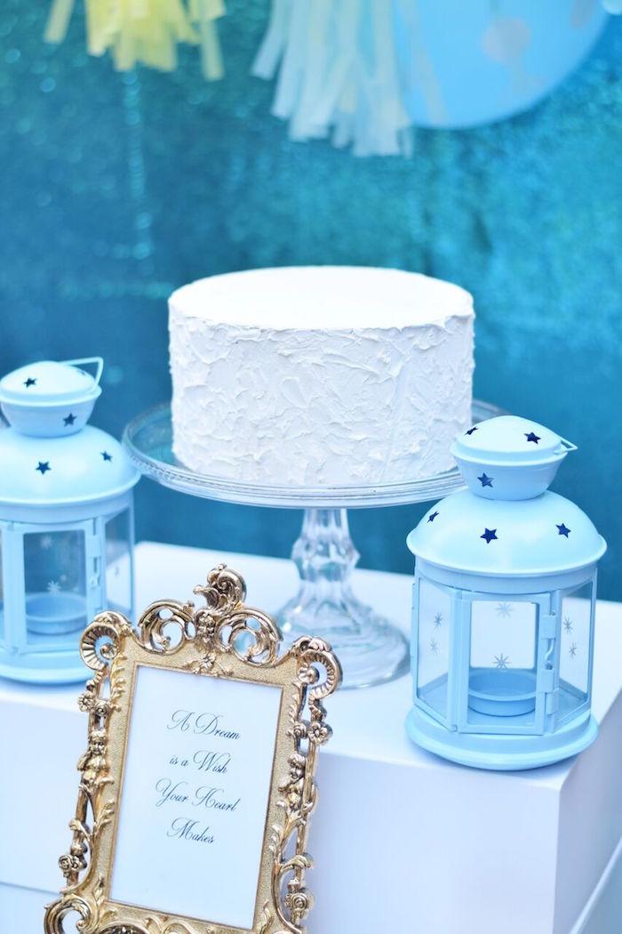 Cakescape from a Cinderella Birthday Party on Kara's Party Ideas | KarasPartyIdeas.com (28)