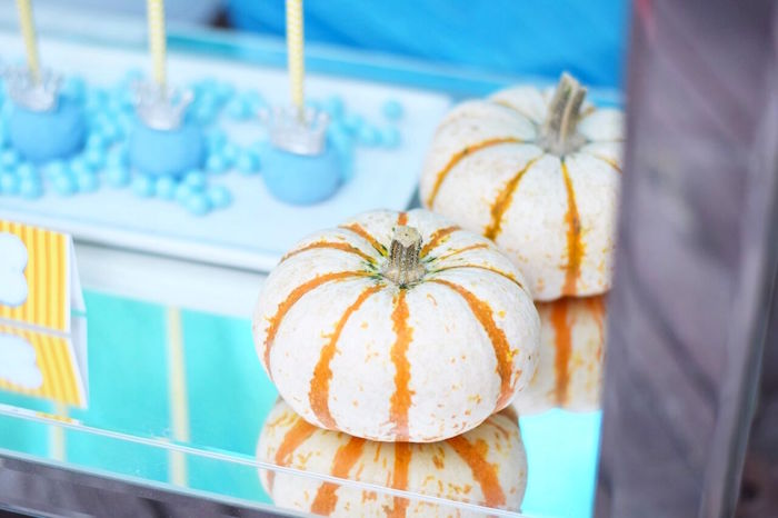 Pumpkin from a Cinderella Birthday Party on Kara's Party Ideas | KarasPartyIdeas.com (45)