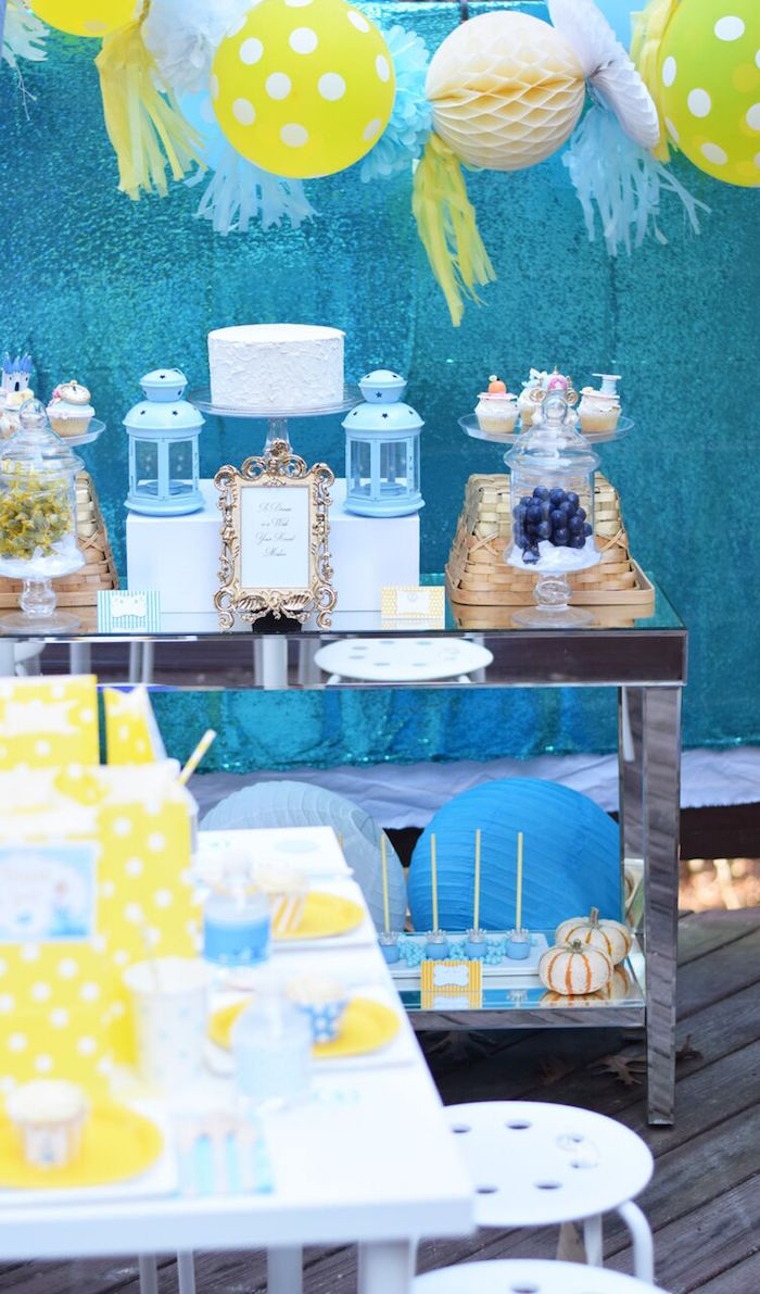 Dessert table from a Cinderella Birthday Party on Kara's Party Ideas | KarasPartyIdeas.com (26)