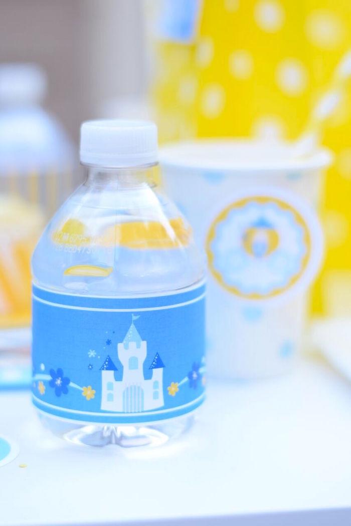 Castle label from a Cinderella Birthday Party on Kara's Party Ideas | KarasPartyIdeas.com (17)