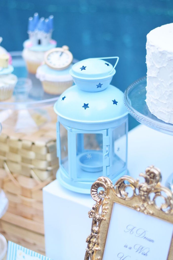 Star lantern from a Cinderella Birthday Party on Kara's Party Ideas | KarasPartyIdeas.com (44)