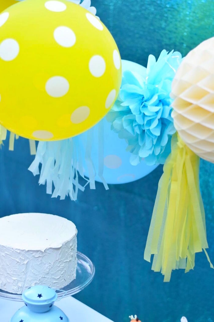 Bunting from a Cinderella Birthday Party on Kara's Party Ideas | KarasPartyIdeas.com (7)