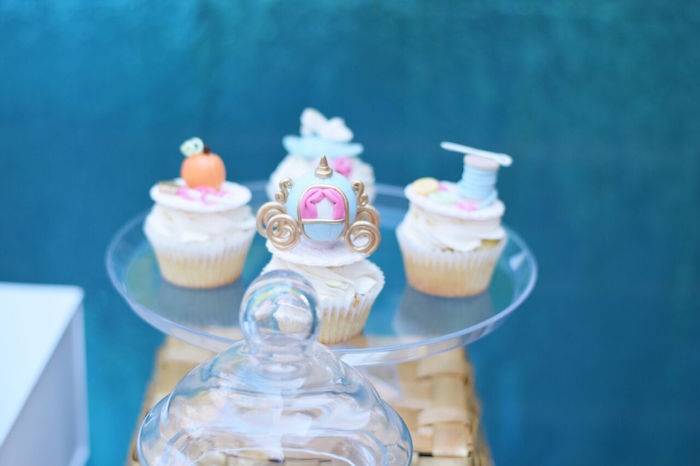 Cinderella cupcakes from a Cinderella Birthday Party on Kara's Party Ideas | KarasPartyIdeas.com (42)