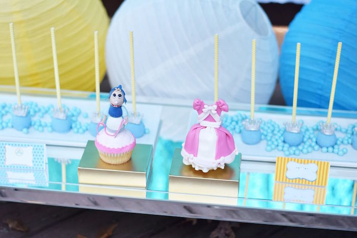 Cinderella sweets from a Cinderella Birthday Party on Kara's Party Ideas | KarasPartyIdeas.com (40)