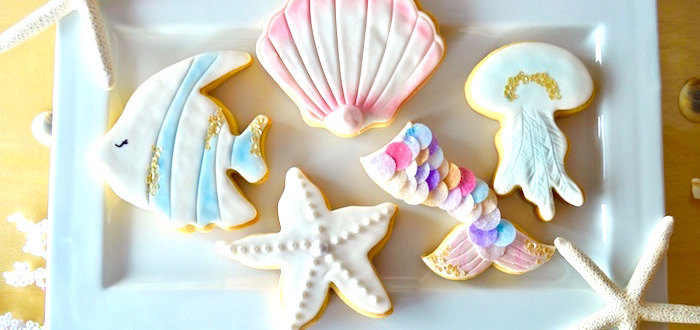Colorful Mermaid Birthday Party on Kara's Party Ideas | KarasPartyIdeas.com (4)