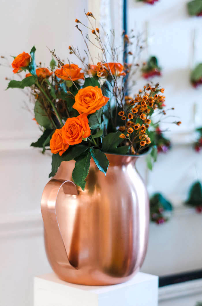 Flowers from a Cozy Winter Party on Kara's Party Ideas | KarasPartyIdeas.com (29)
