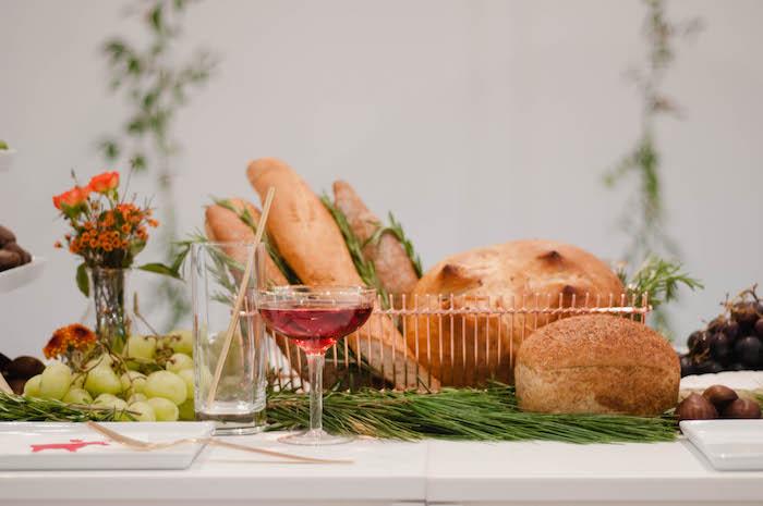 Bread & rolls from a Cozy Winter Party on Kara's Party Ideas | KarasPartyIdeas.com (16)
