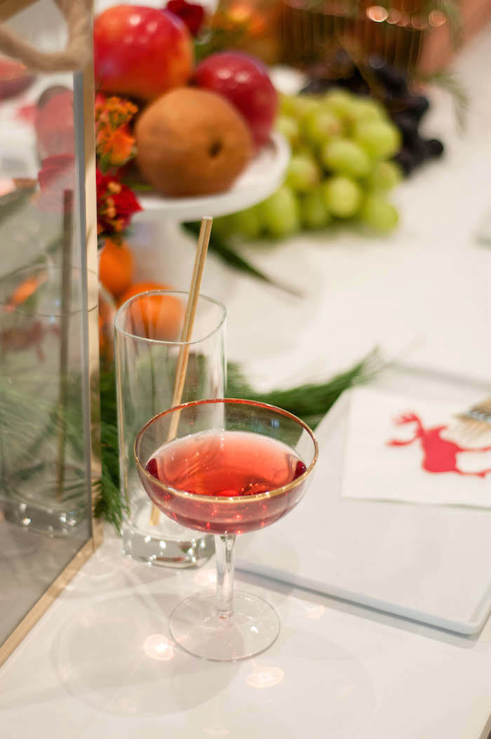 Drink glasses from a Cozy Winter Party on Kara's Party Ideas | KarasPartyIdeas.com (7)