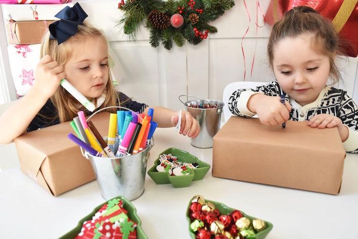 DIY Holiday Gift Wrap Ideas on Kara's Party Ideas | KarasPartyIdeas.com (33)