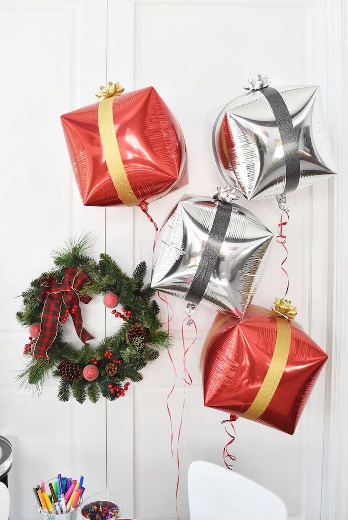 DIY Holiday Gift Wrap Ideas on Kara's Party Ideas | KarasPartyIdeas.com (20)