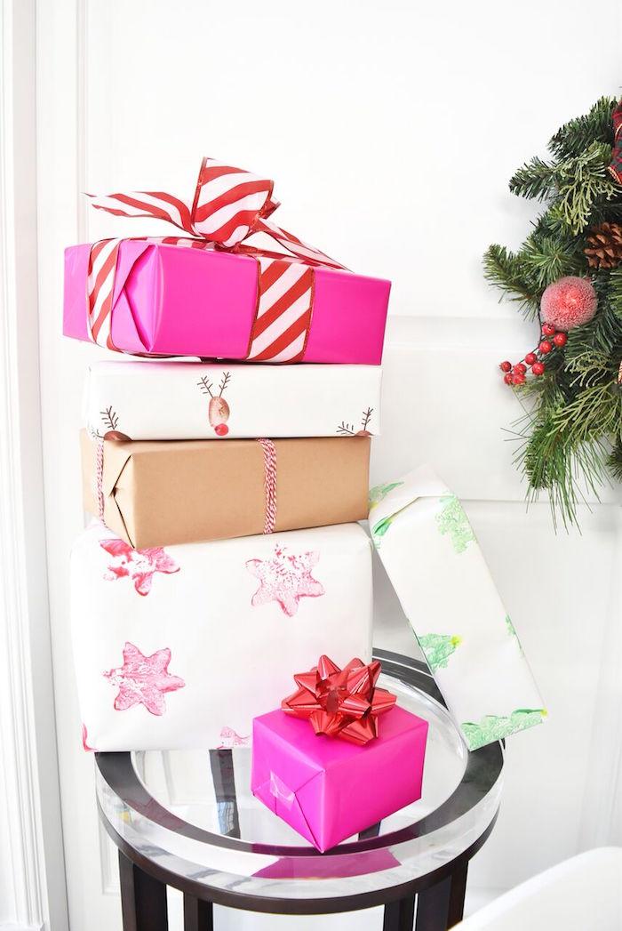 DIY Holiday Gift Wrap Ideas on Kara's Party Ideas | KarasPartyIdeas.com (16)