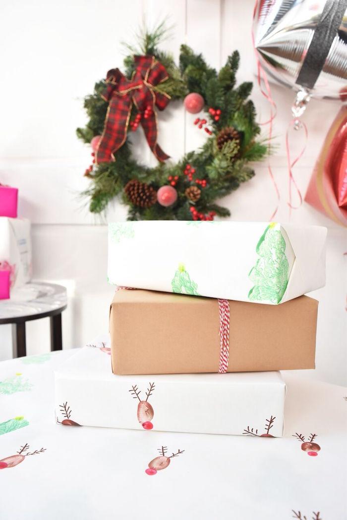 DIY Holiday Gift Wrap Ideas on Kara's Party Ideas | KarasPartyIdeas.com (42)