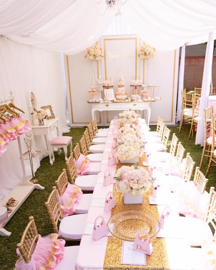 Diamonds & Dior 1st Birthday Party on Kara's Party Ideas | KarasPartyIdeas.com (10)
