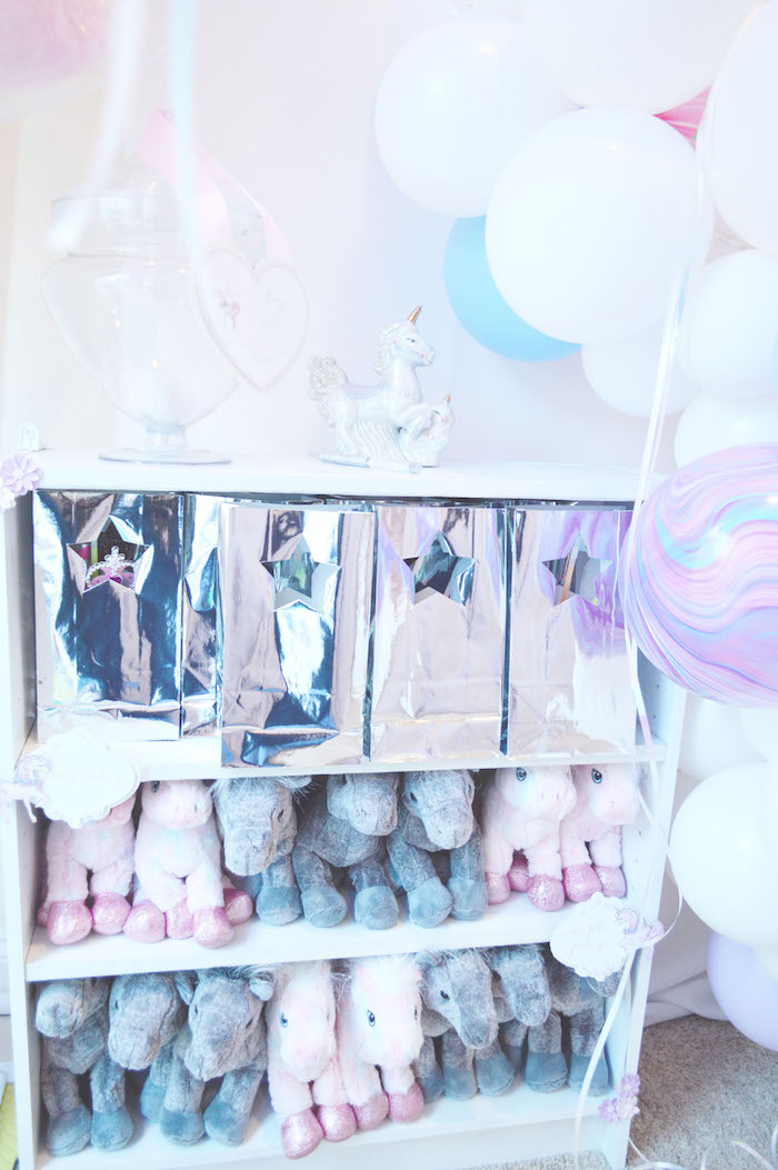 Unicorn party favors from an Elegant Pastel Unicorn Soiree on Kara's Party Ideas | KarasPartyIdeas.com (25)