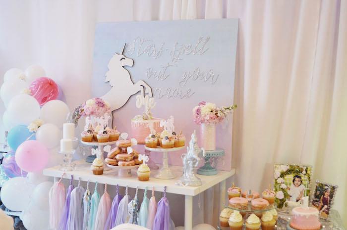 Elegant Pastel Unicorn Soiree on Kara's Party Ideas | KarasPartyIdeas.com (35)