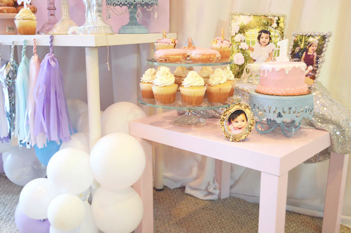 Sweet table from an Elegant Pastel Unicorn Soiree on Kara's Party Ideas | KarasPartyIdeas.com (13)