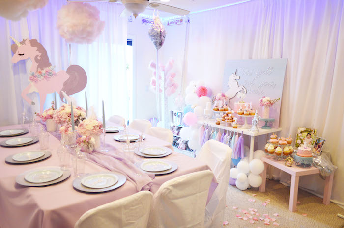 Elegant Pastel Unicorn Soiree on Kara's Party Ideas | KarasPartyIdeas.com (6)
