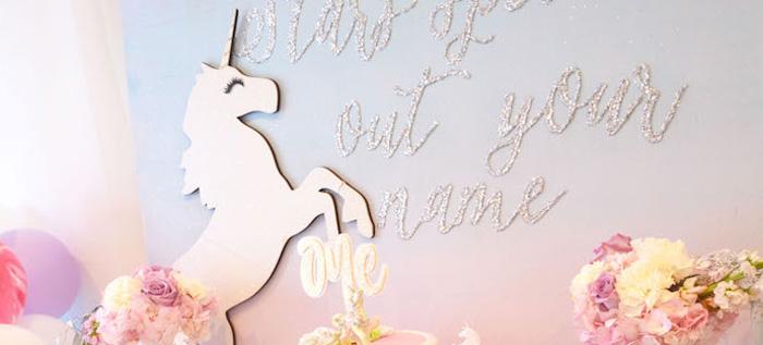 Elegant Pastel Unicorn Soiree on Kara's Party Ideas | KarasPartyIdeas.com (4)