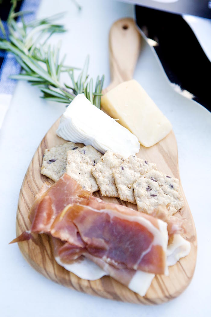 Meat & cheese board from a Favorite Things Holiday Dinner Party on Kara's Party Ideas | KarasPartyIdeas.com (7)