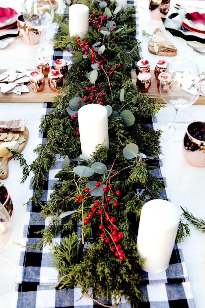 Guest tablescape from a Favorite Things Holiday Dinner Party on Kara's Party Ideas | KarasPartyIdeas.com (14)