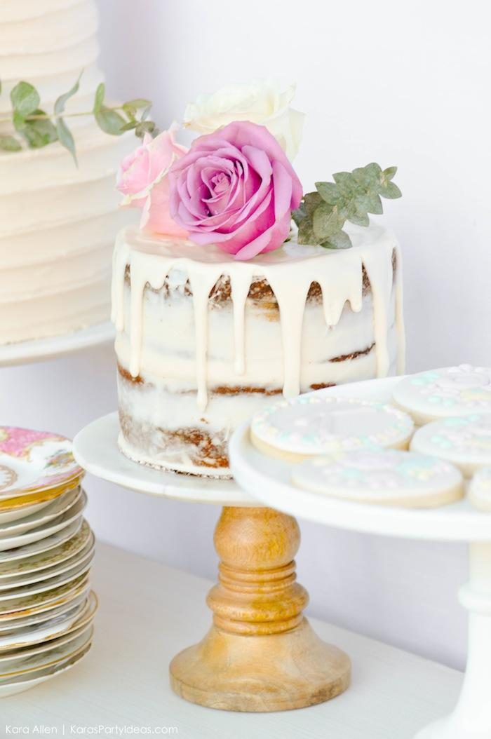 Kara S Party Ideas Chic Floral Baby Blessing Luncheon With