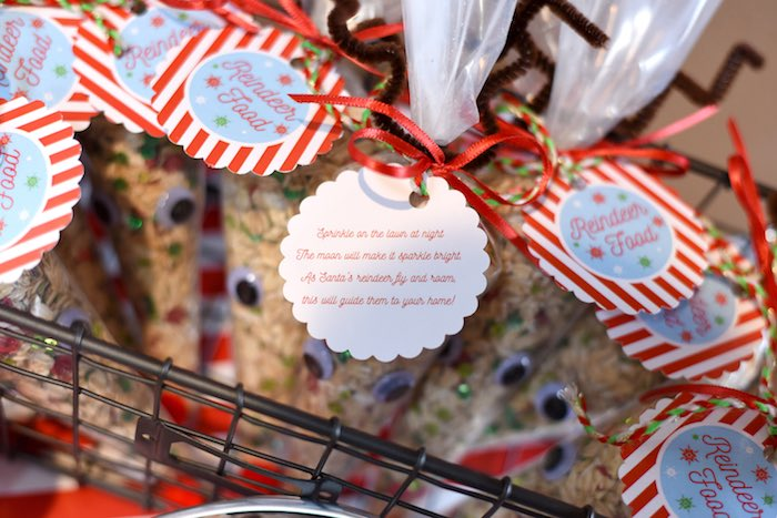 Reindeer Food label from a Gingerbread Decorating Holiday Christmas Party on Kara's Party Ideas | KarasPartyIdeas.com (30)
