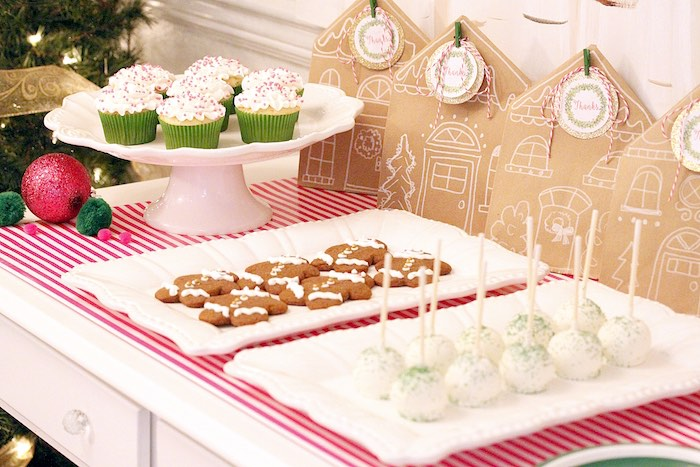 Sweets from a Gingerbread House Decorating Party on Kara's Party Ideas | KarasPartyIdeas.com (28)