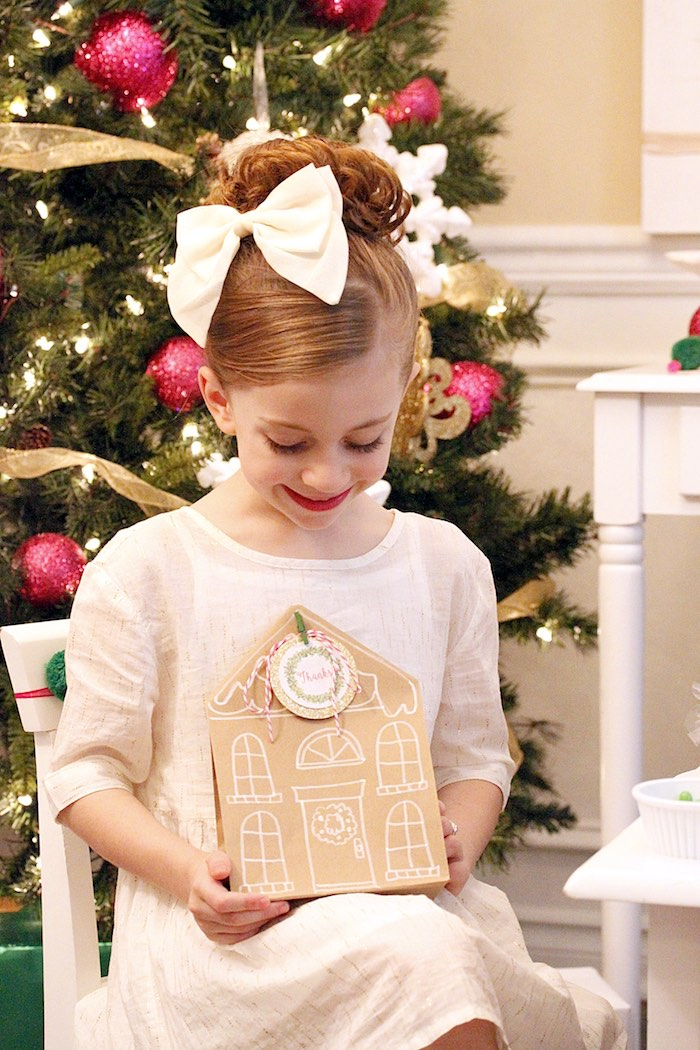 Gingerbread House Decorating Party on Kara's Party Ideas | KarasPartyIdeas.com (38)