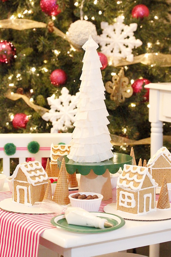 Gingerbread House Decorating Party on Kara's Party Ideas | KarasPartyIdeas.com (36)
