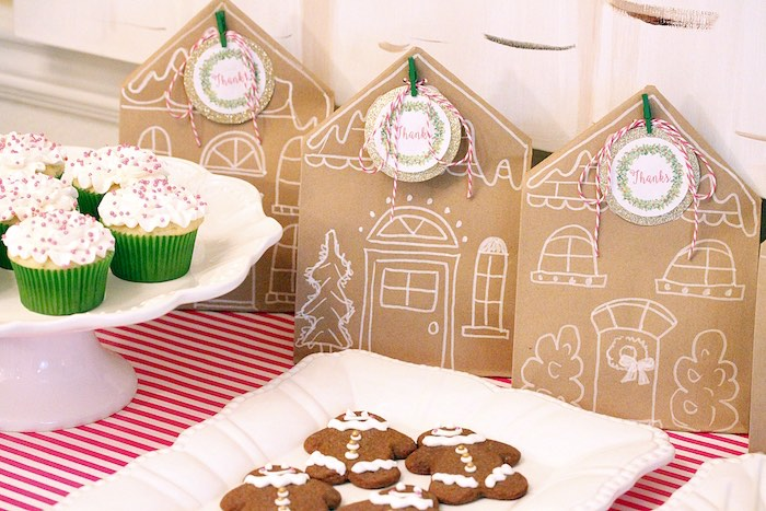 Gingerbread House Decorating Party on Kara's Party Ideas | KarasPartyIdeas.com (34)