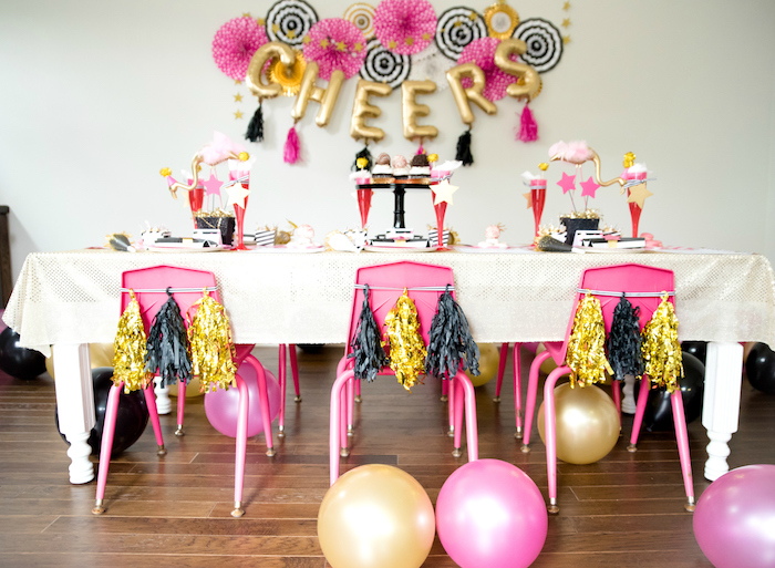 Girly Glam New Year's Eve Flamingle on Kara's Party Ideas | KarasPartyIdeas.com (14)