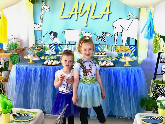 Girly Wild Safari Birthday Party on Kara's Party Ideas | KarasPartyIdeas.com (28)