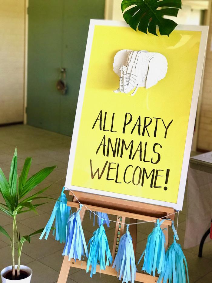 Girly Wild Safari Birthday Party