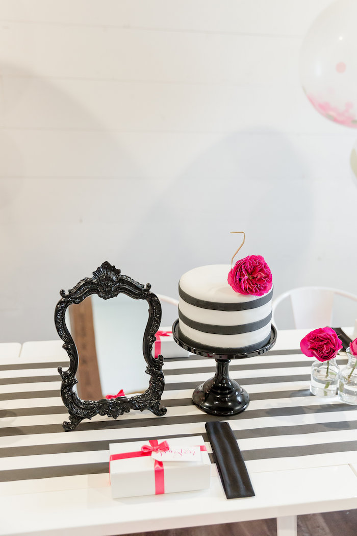 Kate Spade Inspired Spa Birthday Party on Kara's Party Ideas | KarasPartyIdeas.com (49)
