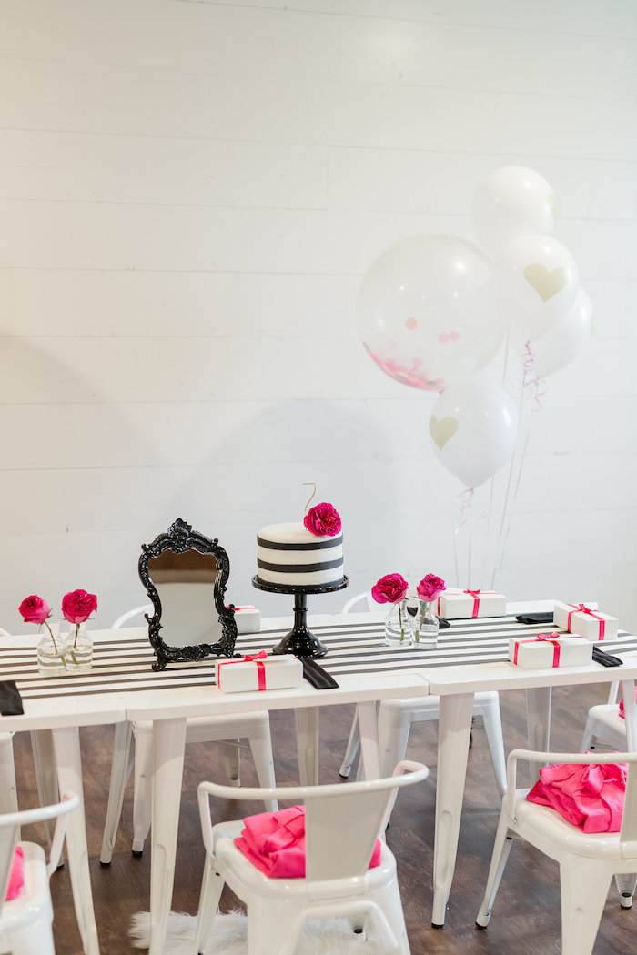 Kate Spade Inspired Spa Birthday Party on Kara's Party Ideas | KarasPartyIdeas.com (48)