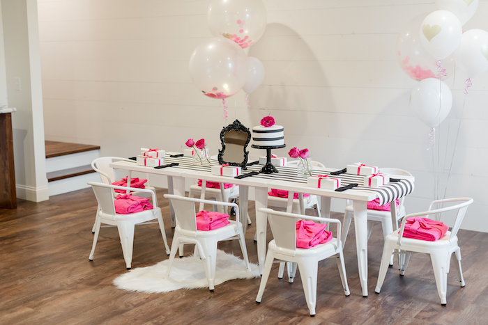 Kate Spade Inspired Spa Birthday Party on Kara's Party Ideas | KarasPartyIdeas.com (47)