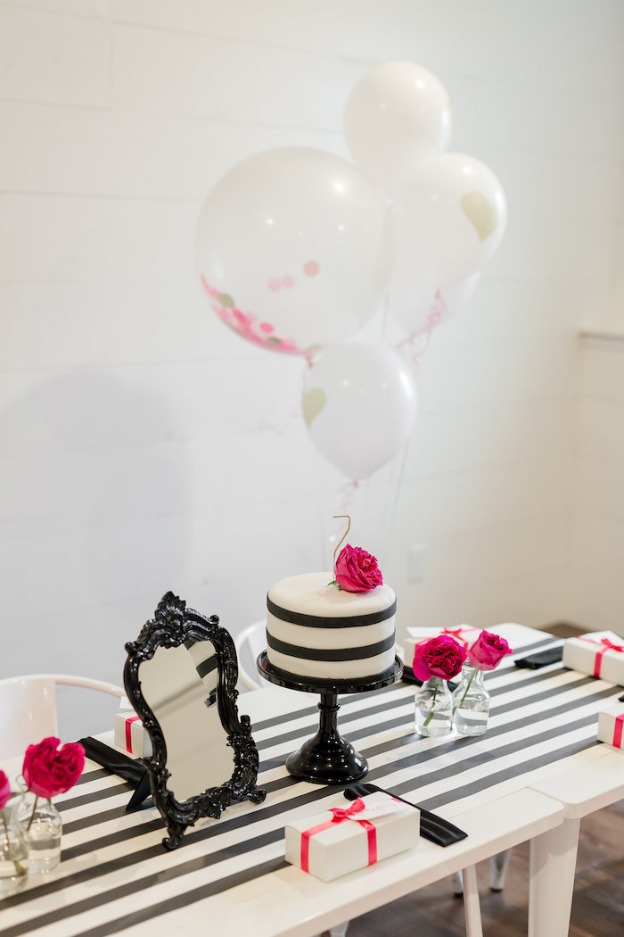 Kate Spade Inspired Spa Birthday Party on Kara's Party Ideas | KarasPartyIdeas.com (46)