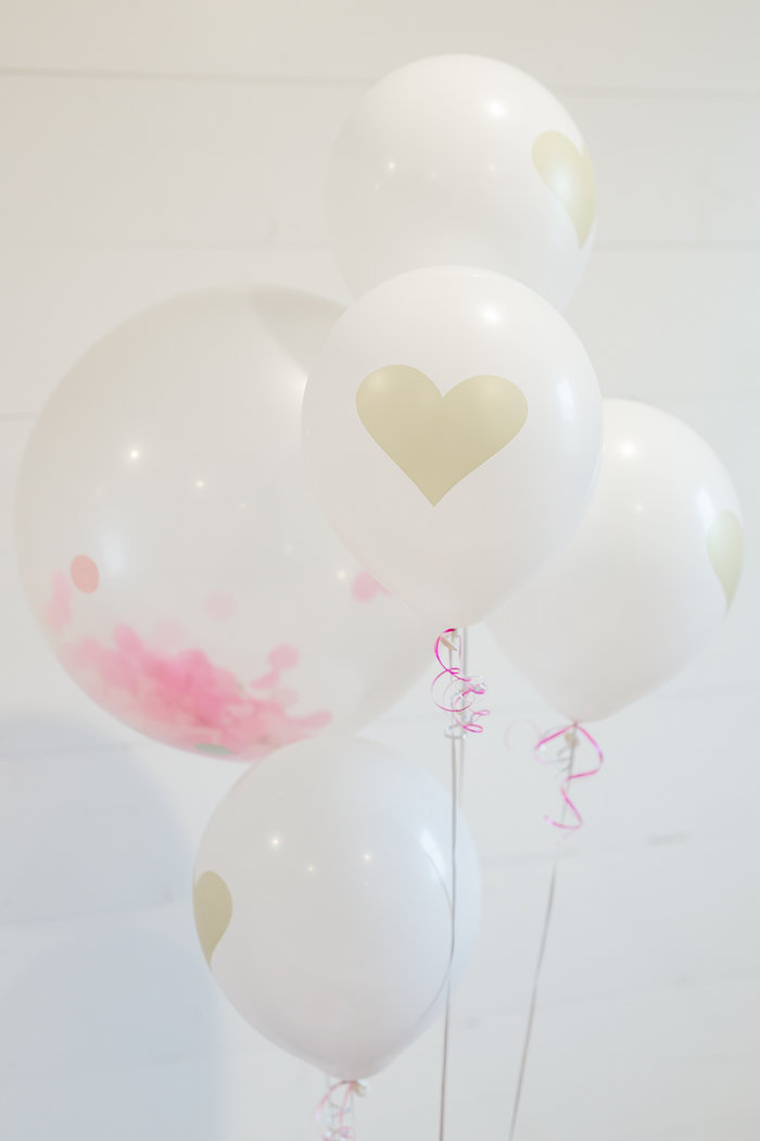 Balloons from a Kate Spade Inspired Spa Birthday Party on Kara's Party Ideas | KarasPartyIdeas.com (45)